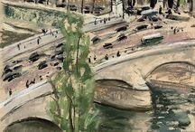 Paris Drawings and Paintings