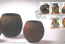 South African Ceramics / Stamps depicting South African Ceramics