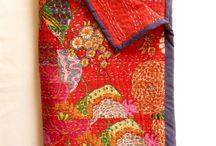 quilts - kantha