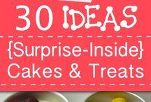 Surprise Inside Cakes