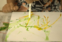 Art Technique / Technique ideas to try with younger children