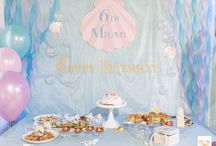 Ariel Under the Sea Birthday Party