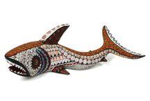 David Hernandez: Tiburon Shark | Sandia Folk