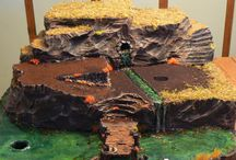 Village Making Ideas, Tips & Tricks / The building of  miniature scenery, terrain, and water features. / by Chellie Hailes