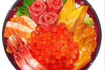 Вкусные иллюстрации
