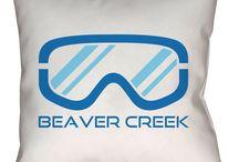 Beaver Creek, Colorado Throw Pillows