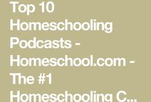 Homeschool Podcasts & Other Media / Podcasts and Misc. Audio & Video Pertaining to Home Education & Family Life
