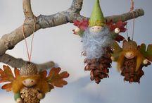 creatief in de herfst