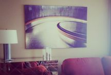 SANTINI GALLERY Interiors / Interiors outfitted with art from SANTINI GALLERY.