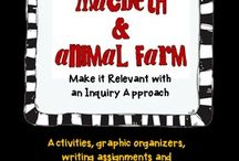 George Orwell Resources and Lessons / Resources and Lessons for Animal Farm and 1984.