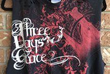 Band Shirts / Awesome band merch.
