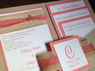 Pocket Invitations / Looking to make attending a wedding even easier for guests? These pocket invitations create the special feeling and convenience you need.