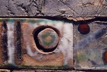 Ceramics, by Elena Gutierrez Giulianotti / Ceramic textures & colour combinations, by Elena Gutierrez Giulianotti.