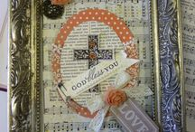 Book crafts / art ideas, journaling, book cutting, book crafts