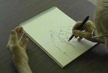 Contour drawing / Art