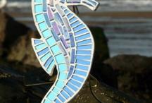 Mosaic ideas for sea horses