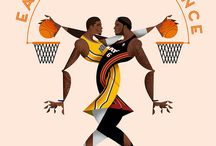 B-Ball illustrations