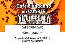 Cafés Ciudadanos / Encuentros de Ciudadanos con gente que se acerca a conocer nuestras propuestas y proyectos