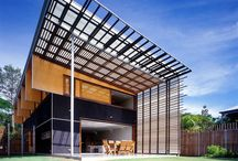 Architecture / Australian Light & Air / Unique Australian style architecture characterised by use of galvanised iron to provide great solar orientation and to take advantage of natural breezes. Leaders include Glen Murcutt and Troppo Architects.