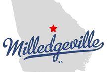 Milledgeville, GA / Milledgeville, Georgia - Capitals, Columns, & Culture