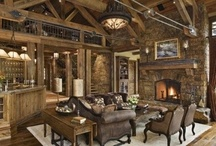 RUSTIC HOMES / by Cindy Paulson