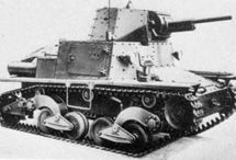 Italian Tanks and weapons of WW2