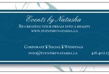 Events by Natasha / Weddings, Social Events, Corporate Functions www.eventsbynatasha.ca Serving all clients in the Ontario Region.