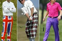 Outrageous Golf Attire / by Pine-Cone Accommodations