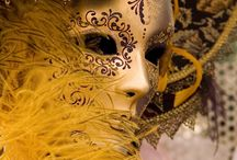 Venice / Costumes, masks from Venice and other carnival places
