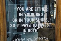 WISE WORDS - ON STYLE, FASHION AND LIFESTYLE / Wise Words - On Style, Fashion and Lifestyle