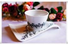 Porcelain coffe & tea cups