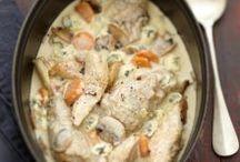 plats à base de.poulet