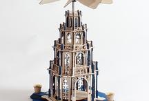 Holzbausatz gotische Pyramide