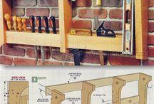 Wall Tool Rack