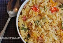 Jamaica  seasoned rice