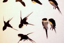 Птицы гохуа.