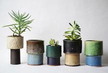 Ceramics: Planters and Vases