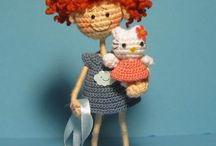 Hračky-hačkovane,pletene