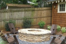 Fire pit ideas / by Steph Theresa