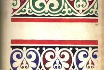 Decoratii, benzi fâșii