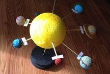 sistema solar, planetes