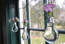 Idea with light bulbs