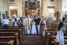 First Communion at St George's Church, Worcester