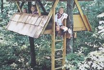 Tree Houses / Ideas to create an awesome Tree House in our garden!