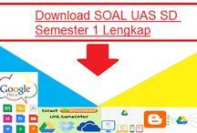 Soal Soal UAS Tingkat SD Kelas 1 2 3 4 5 6 Semester 1 Lengkap