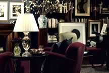 The Dark Side / Beautiful & sensuous spaces incorporating a dark color palette / by Lenox