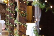 Inspiration || Christmas Themed Wedding