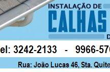 Calhas em Curitiba / Calha de beiral branca