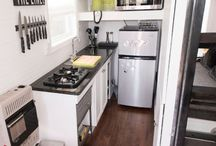 Small Spaces / Including space saving furniture, appliances, kitchens and bathrooms.