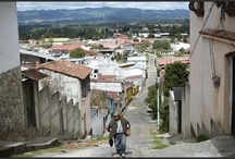 Chichicastenango / Chichicastenango - malé městečko poblíž hlavního města Guatemala